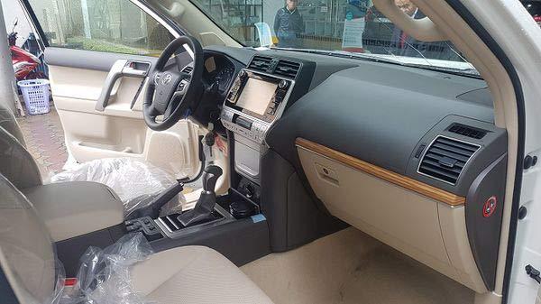 Nội thất Toyota Land Cruiser Prado 2020