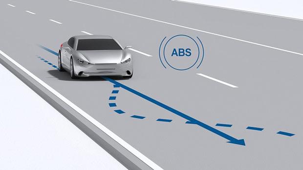 Ưu điểm của hệ thống phanh ABS