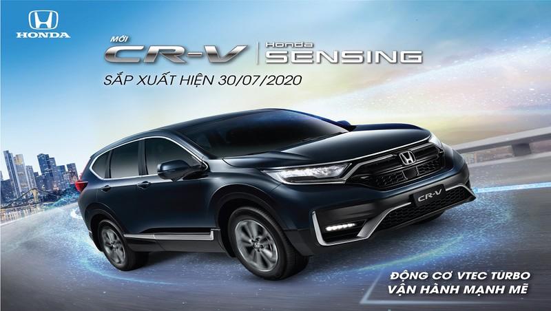 Honda Crv chính thức ra mắt