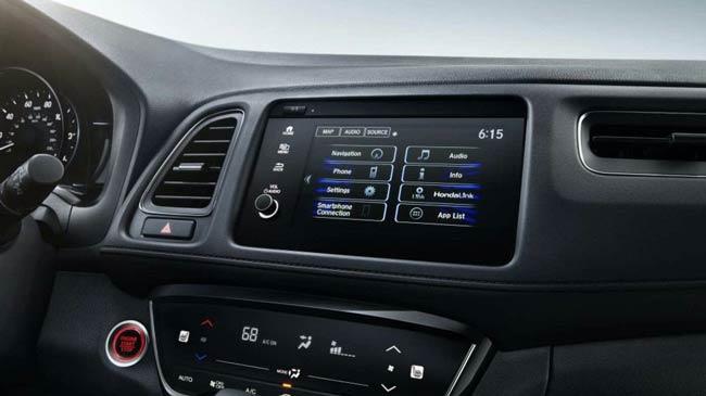 Hệ thống tiện nghi bên trong Honda HR-V 2021