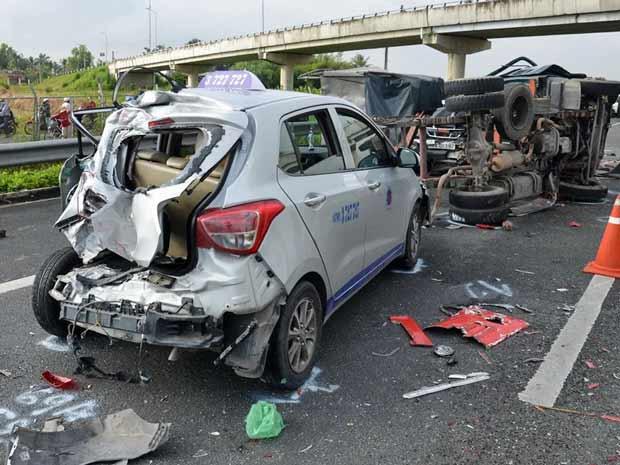 Căn xe không chuẩn sẽ rất dễ gây ra tai nạn