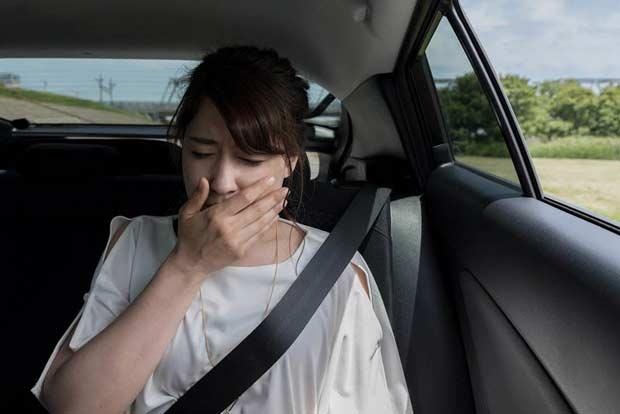 Phát hiện thấy có mùi lạ trong xe