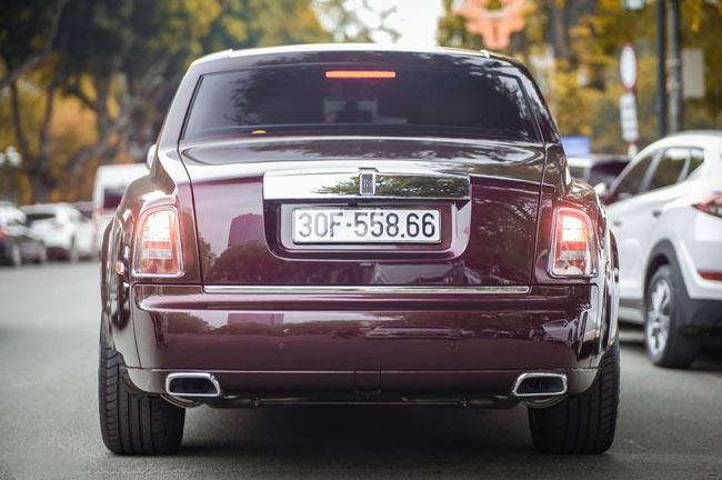 Rolls-Royce Phantom Hòa Bình Vinh Quang chính thức đóng biển trắng