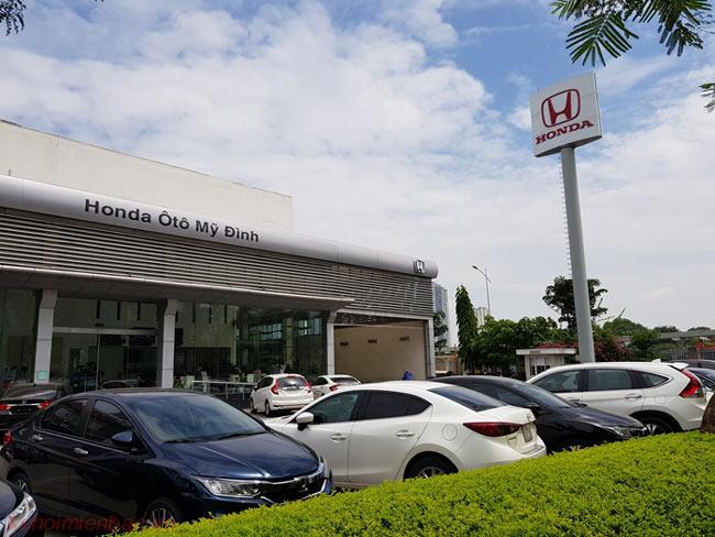 Honda ô tô Mỹ Đình