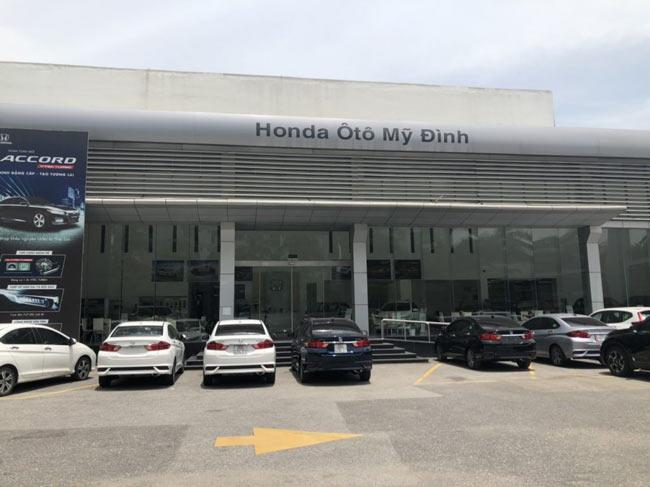 Honda oto Mỹ Đình - đại lý đạt chuẩn 5s Honda