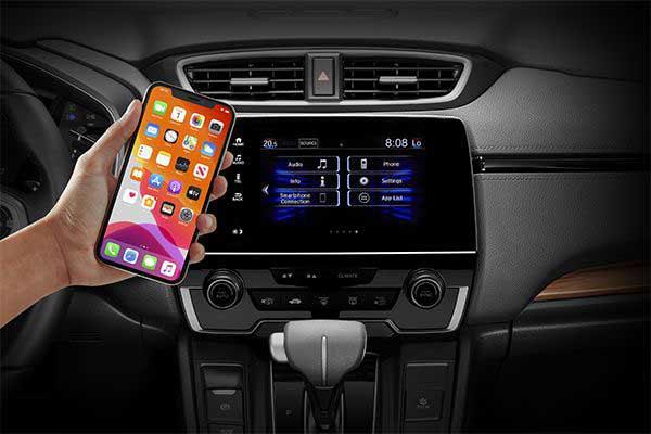 Tiện nghi công nghệ trên Honda CR-V 2021