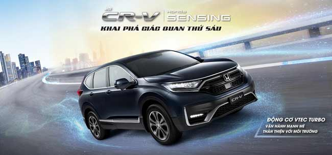 Tổng quan về xe Honda CR-V