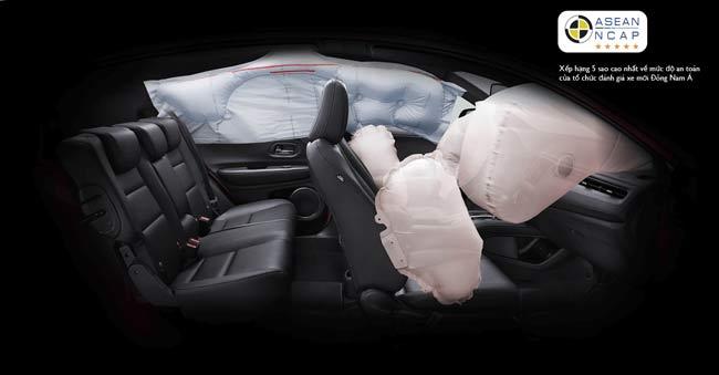 Trang bị công nghệ an toàn trên Honda HR-V