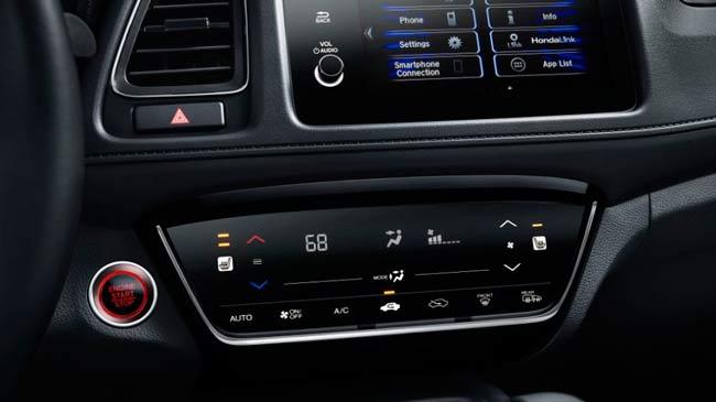 Trang bị tiện nghi công nghệ trên Honda HR-V