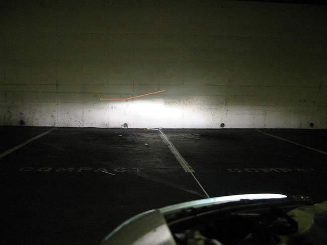 Căn chỉnh đèn bên phía người lái