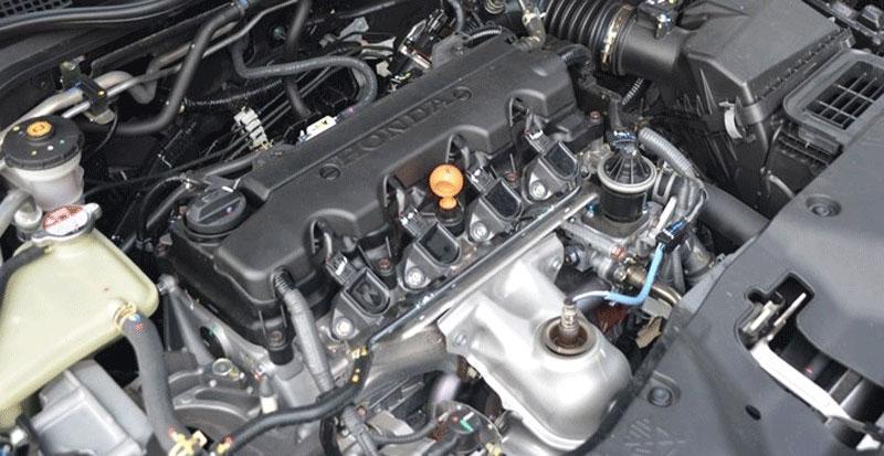 Động cơ của Honda Civic 2021