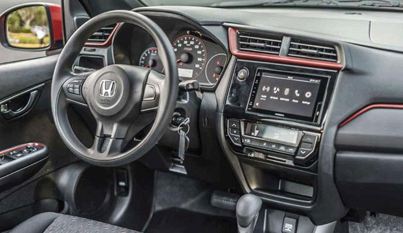 Thiết kế nội thất Honda Brio 2021