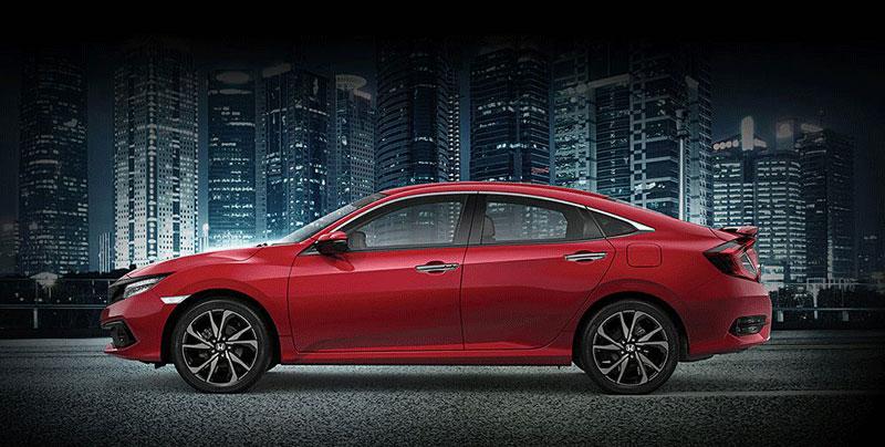 Thông số kích cỡ Honda Civic 2021